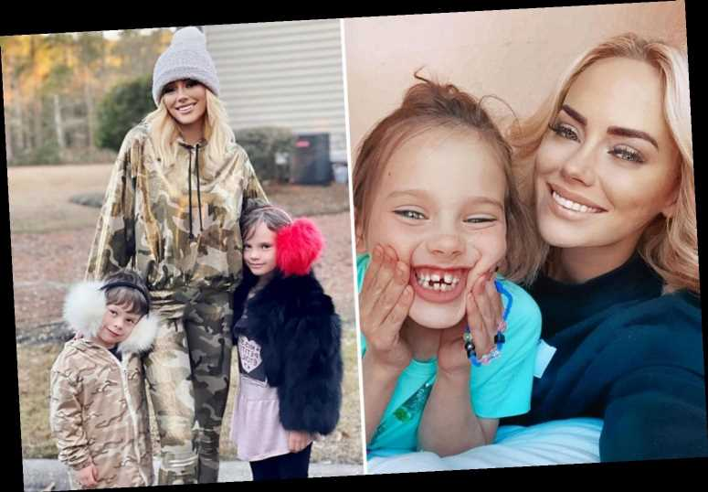 Southern Charm's Kathryn Dennis smiles & poses with daughter Kensie, 6, for selfie after losing custody of her two kids