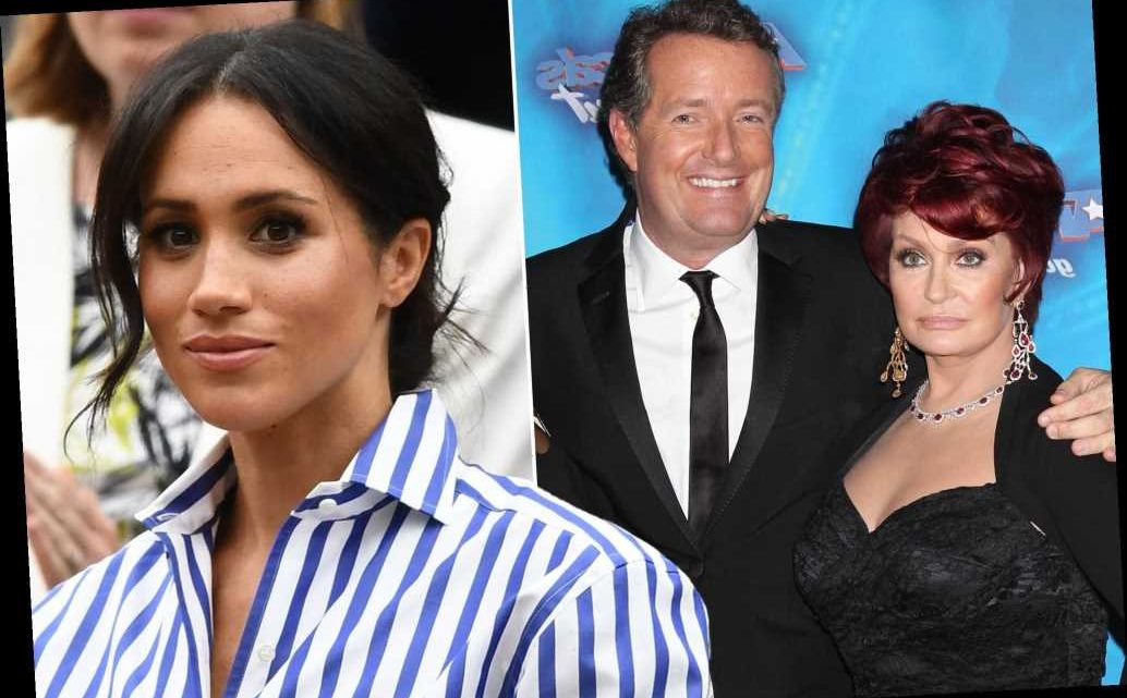 Sharon Osbourne defends Piers Morgan's Meghan Markle criticism