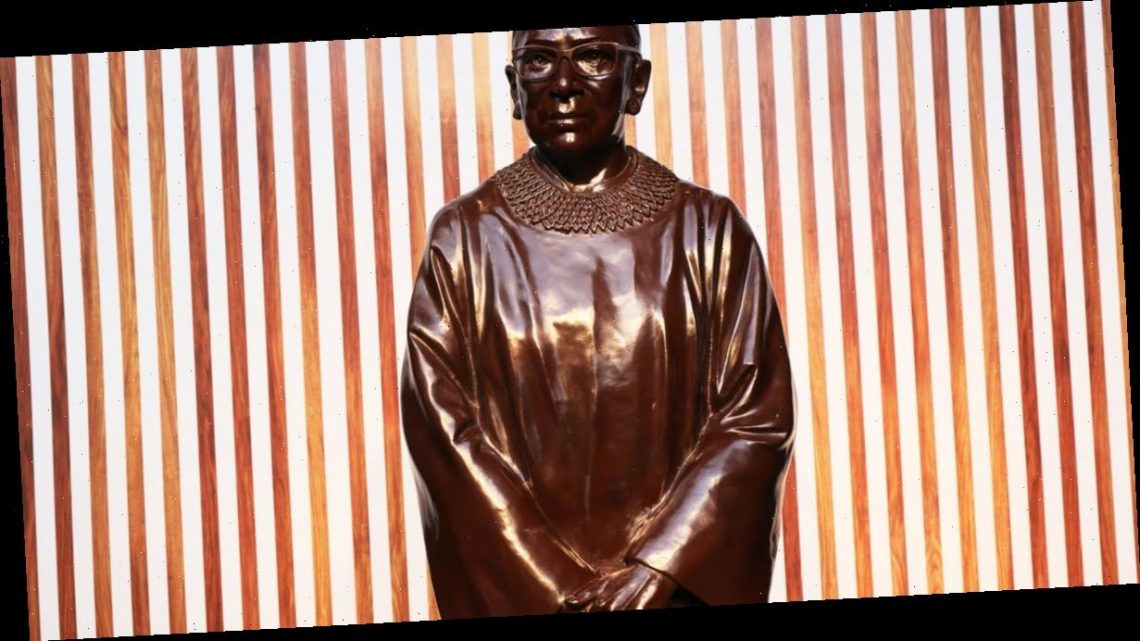 """Ruth Bader Ginsburg statue unveiled in Brooklyn to """"ensure her legacy lives on for generations"""""""