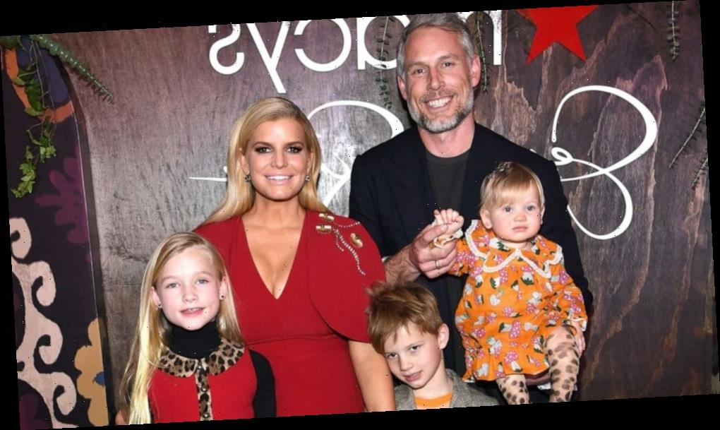 Jessica Simpson explains why she's such an 'open book' with her children