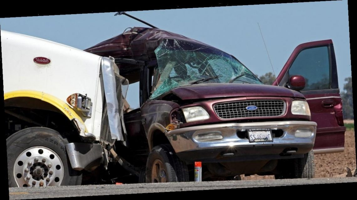 At least 13 killed in collision between semitruck and SUV in Southern California