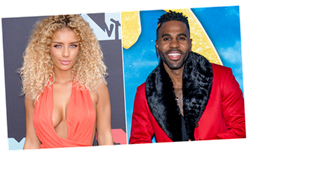 Jason Derulo and Jena Frumes Go All Out to Reveal Sex of Their Baby
