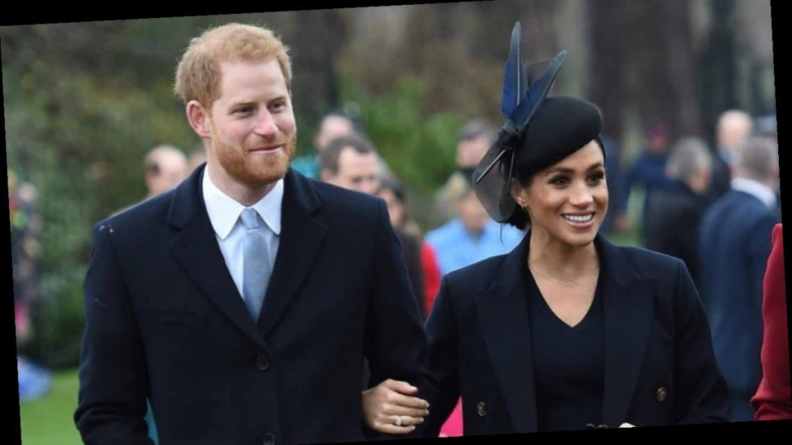 Prince Harry and Meghan Markle Stun in New Family Photo