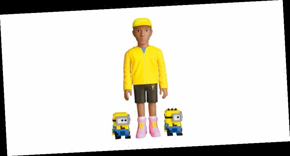 Medicom Toy's New VCD Immortalizes Pharrell and The Minions