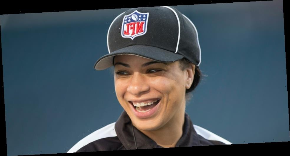 Maia Chaka Makes History as NFL's First Black Woman Game Official
