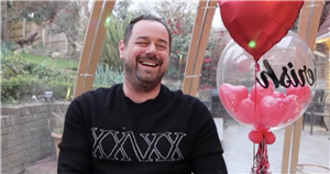Danny Dyer builds incredible £5,000 igloo with his own hands and enjoys al-fresco drinks with Inbetweeners star