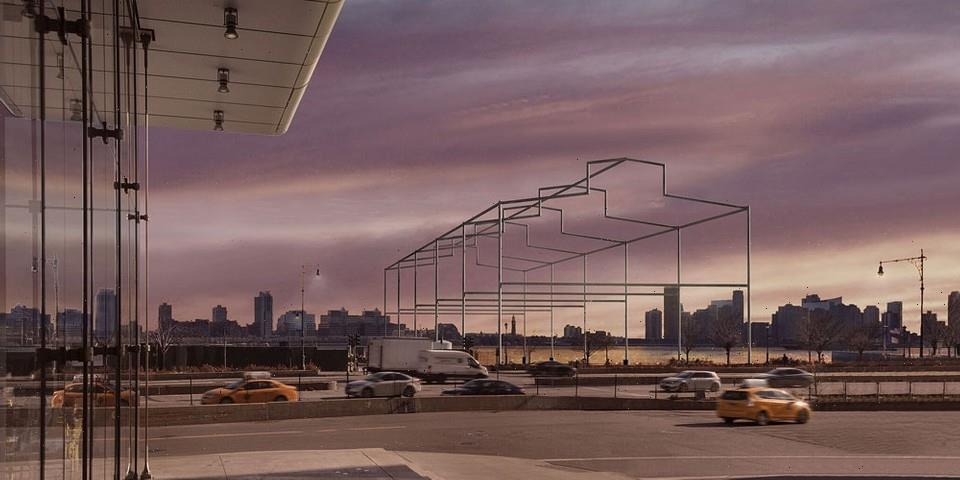 David Hammons Installs Massive 'Day's End' Permanent Sculpture in NYC