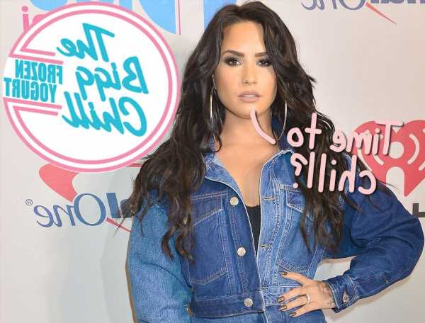 Demi Lovato's Fro-Yo Controversy, Now With A Sprinkle Of Angry DMs: 'You Don't Want To Mess With Me'