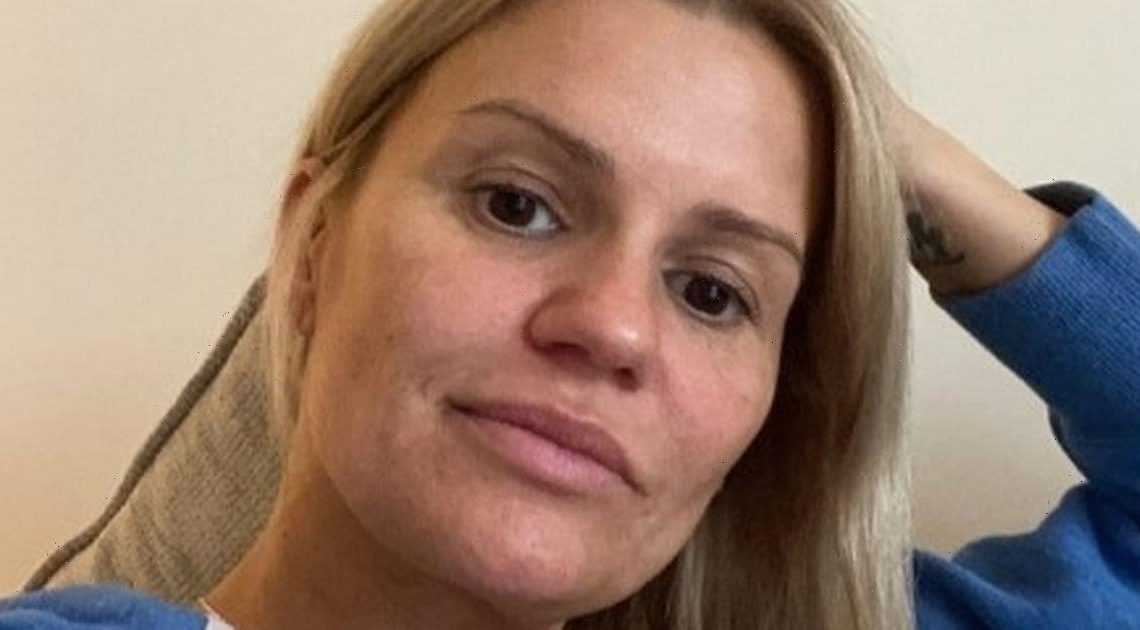 Kerry Katona shares hospital update with fans after suffering allergic reaction