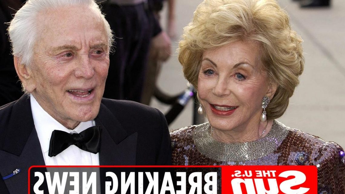 Kirk Douglas' widow Anne Buydens dead at 102 after she 'passed peacefully' at her home in Beverly Hills
