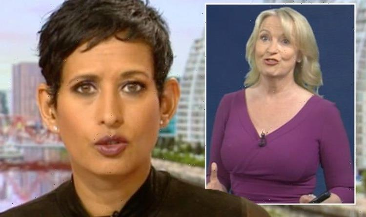 Naga Munchetty mortified after Carol Kirkwood's 'cutting' comment 'Getting them in early'