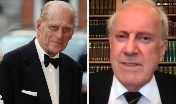 Prince Philip refused to answer Gyles' biography question about The Queen 'It's personal'
