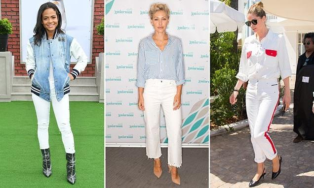 Shane Watson:Everyday jeans are wonderful in white