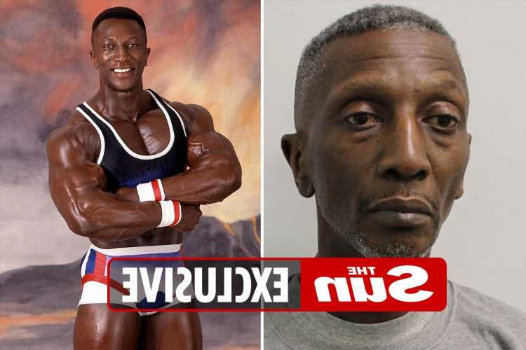Shocking police mugshot of ex-TV Gladiator Shadow shows him hooked on drugs after he admits role in blackmail plot