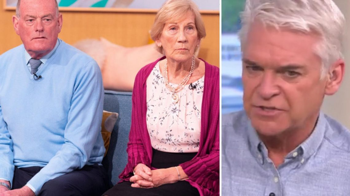 This Morning viewers slam Phillip Schofield for 'attacking' elderly couple who were accused of murdering their son