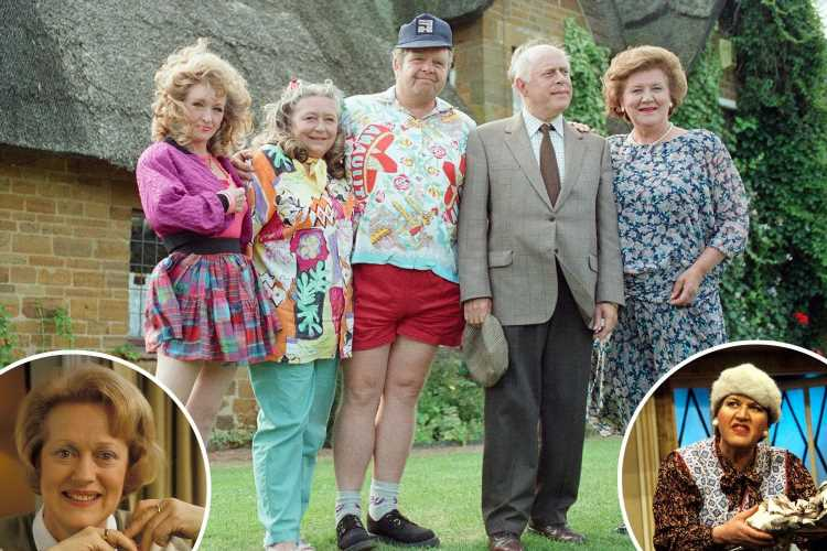 Where the cast of Keeping up Appearances are now – from tragic to soap stardom and even damehood