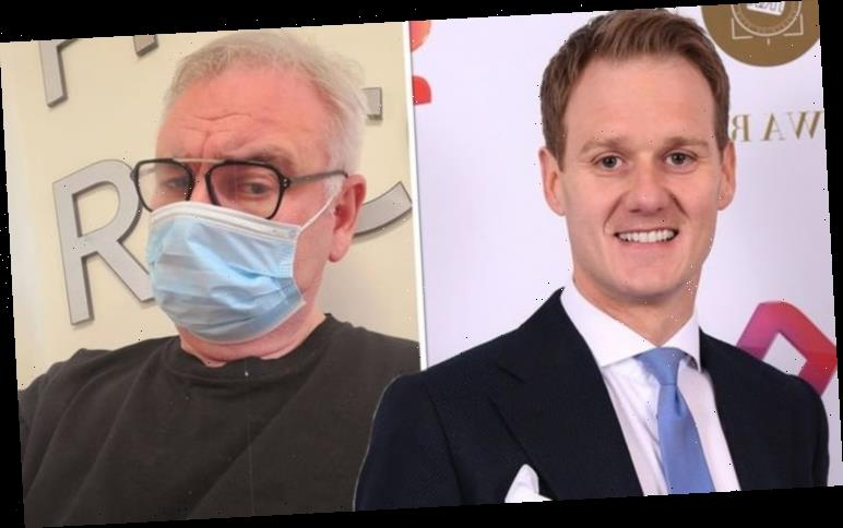 Dan Walker reaches out to Eamonn Holmes after he seeks help for mystery pain in hospital