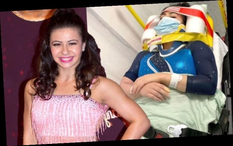 Strictly's Claudia Fragapane rushed to hospital amid scary incident 'Telling me the worst'
