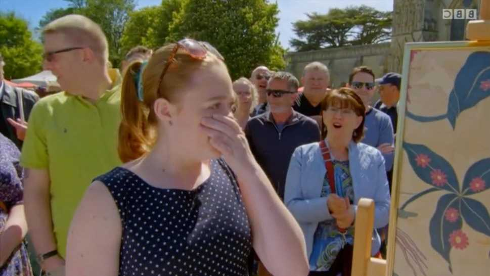 Antiques Roadshow guest's mind blown as she discovers great aunt's gift has Royal connection – and HUGE value
