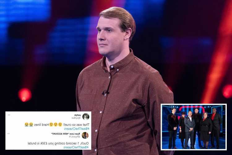 Beat The Chasers fans LIVID as contestant misses out on £50k over 'cruel and brutal' rule