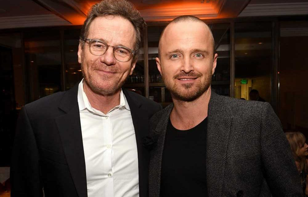 Bryan Cranston and Aaron Paul seem to have superhuman party powers