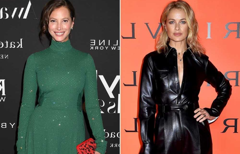 Carolyn Murphy once asked to kiss Christy Turlington's nephew for photoshoot
