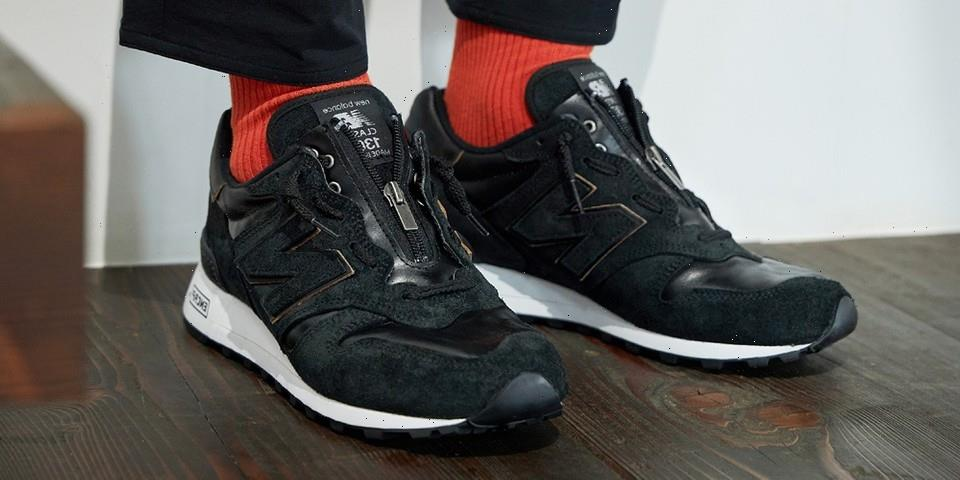 New Balance Japan's Made In USA 1300 Features Removable Zippers