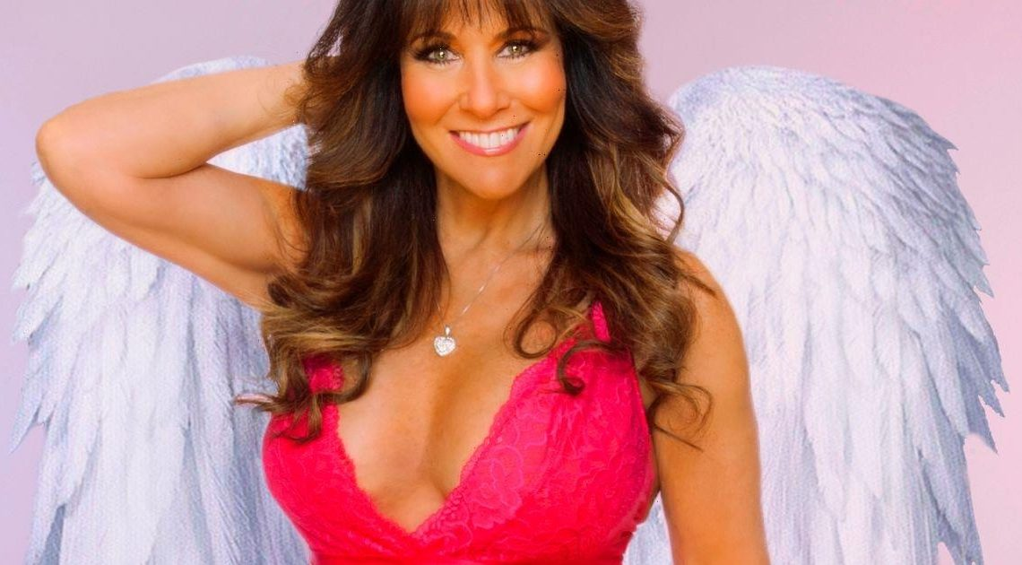 Page 3 icon Linda Lusardi dons sheer pink lingerie to show off ageless curves
