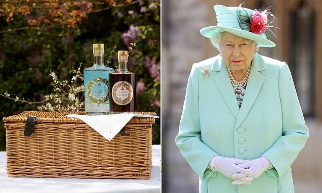 Royal Household £30 sloe gin made with ingredients from Palace garden