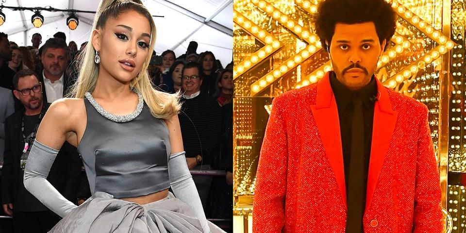 """The Weeknd and Ariana Grande's """"Save Your Tears (Remix)"""" Hits No. 1 on Billboard Hot 100"""