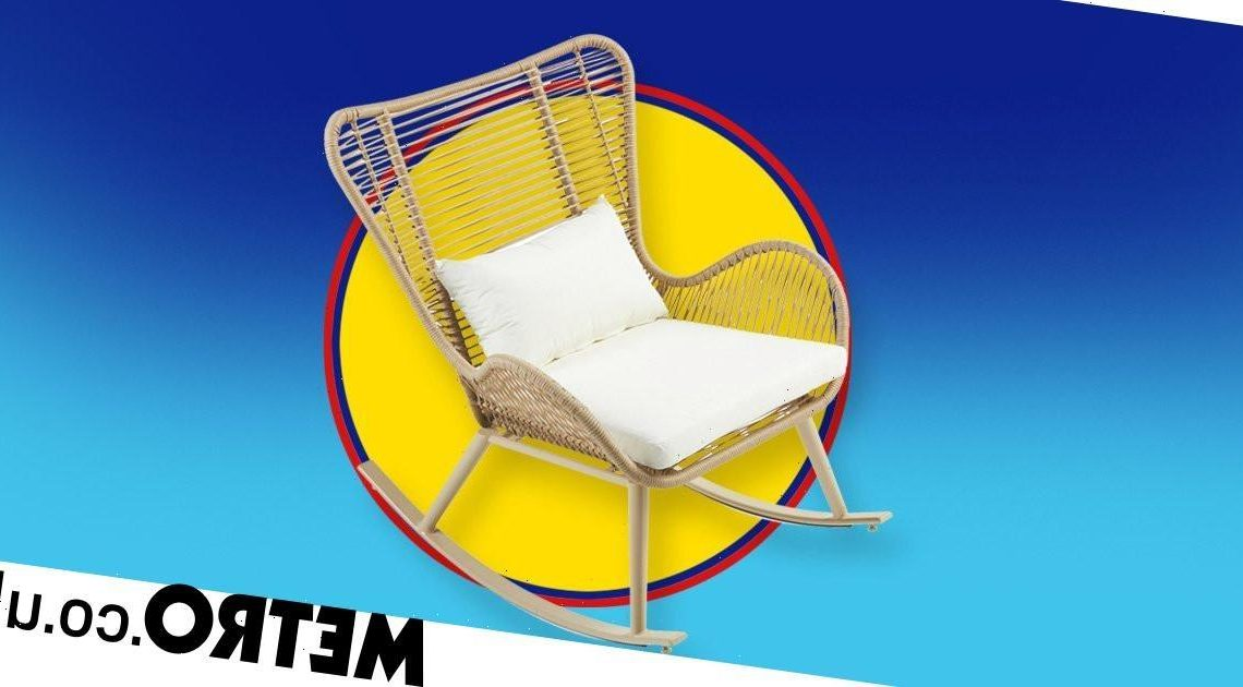 Aldi releases stylish rope effect rocking chair for your garden
