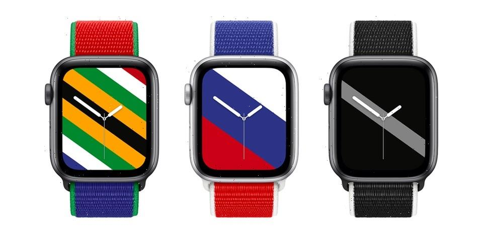 Apple Reveals Country-Themed Watch Bands Ahead of Summer Olympics