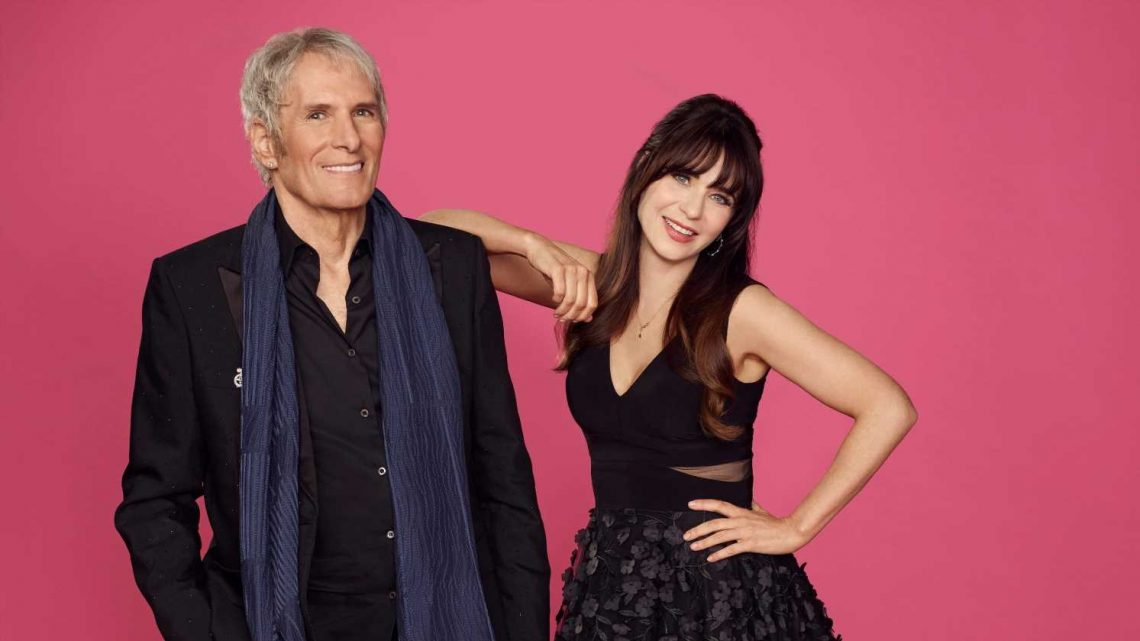 'Celebrity Dating Game' hosts Zooey Deschanel, Michael Bolton dish on the revamped classic
