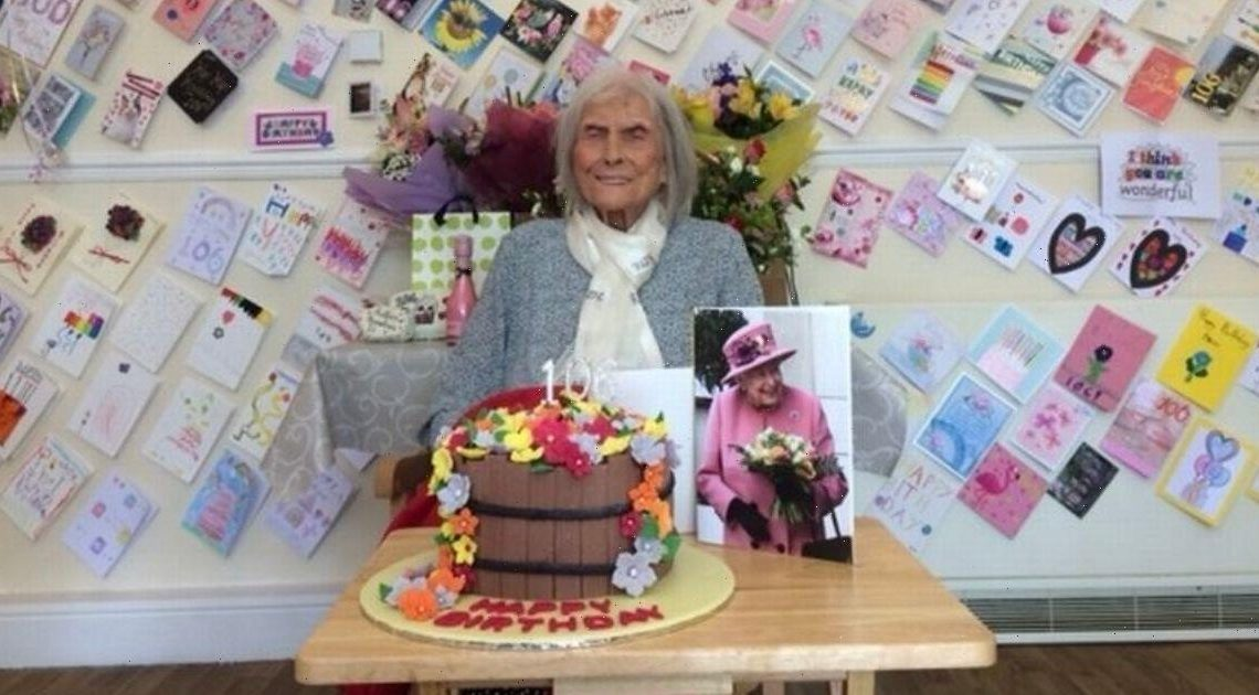 'Cheeky' gran, 107, says secret to a long life is 13 cups of tea a day