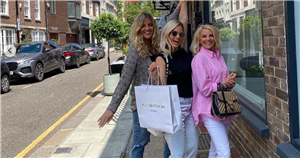 Danielle Armstrong buys her dress for upcoming wedding to fiancé Tom Edney