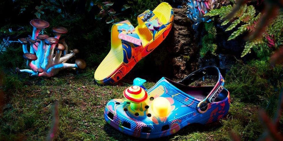 """Diplo and Crocs """"Take a Walk on the Weird Side"""" With Collaborative Classic Clog and Classic Sandal"""