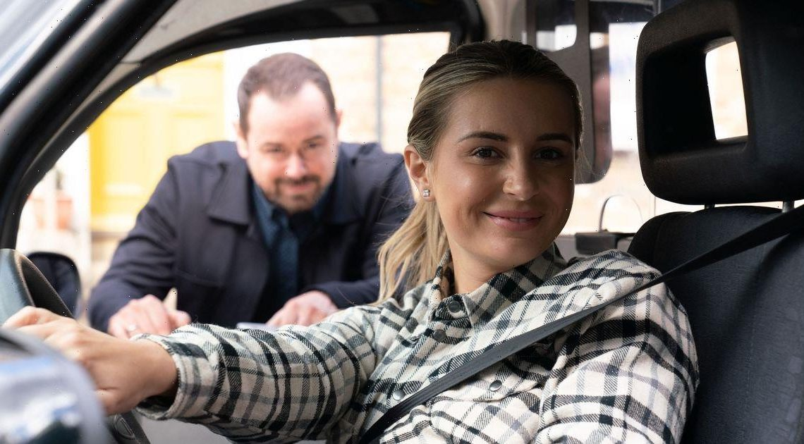 EastEnders fans get first look at Dani Dyer in dramatic cameo with her dad Danny