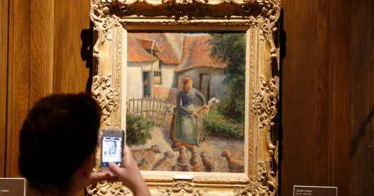 French Heir Gives Pissarro Stolen by the Nazis to a U.S. University