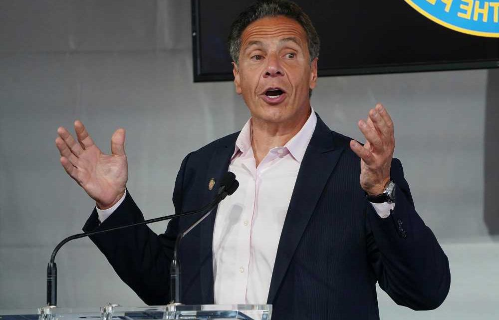 Gov. Andrew Cuomo takes victory lap at Fresco by Scotto after re-opening