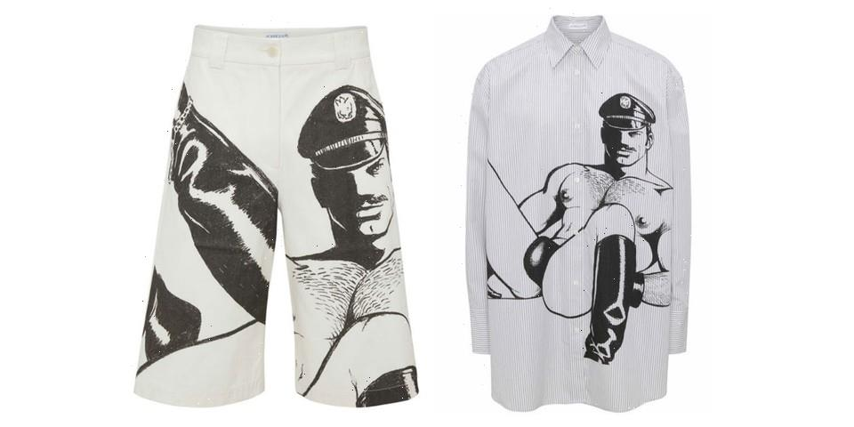 JW Anderson Taps Tom of Finland's Erotic Artworks For Second Capsule Collection
