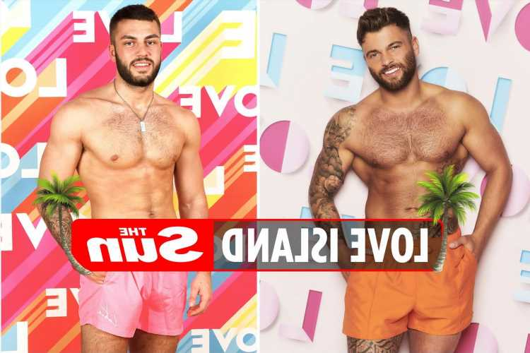 Jake Cornish is the double of Finley Tapp, Love Island 2021 fans claim – and they both have foot fetishes