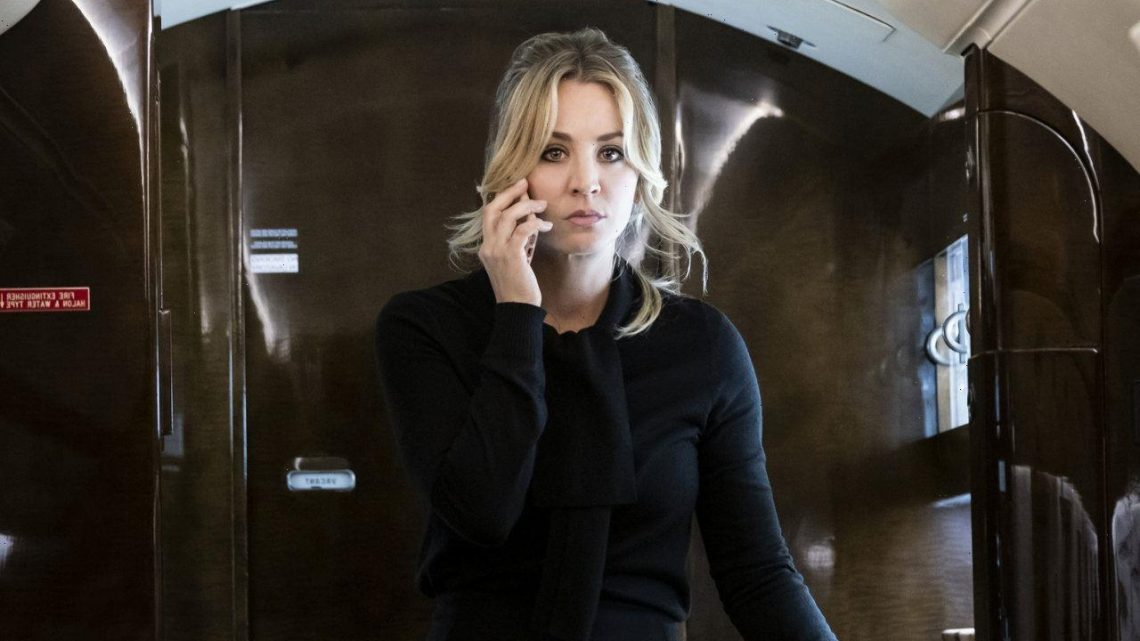 Kaley Cuoco Admits 'Manic' Episode on 'The Flight Attendant' Sent Her to Crazy Places in Her Mind