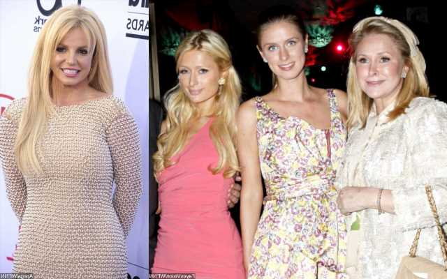 Kathy and Nicky Hilton Support Britney Spears Despite Singer's Stance on Paris' School Abuse Claims