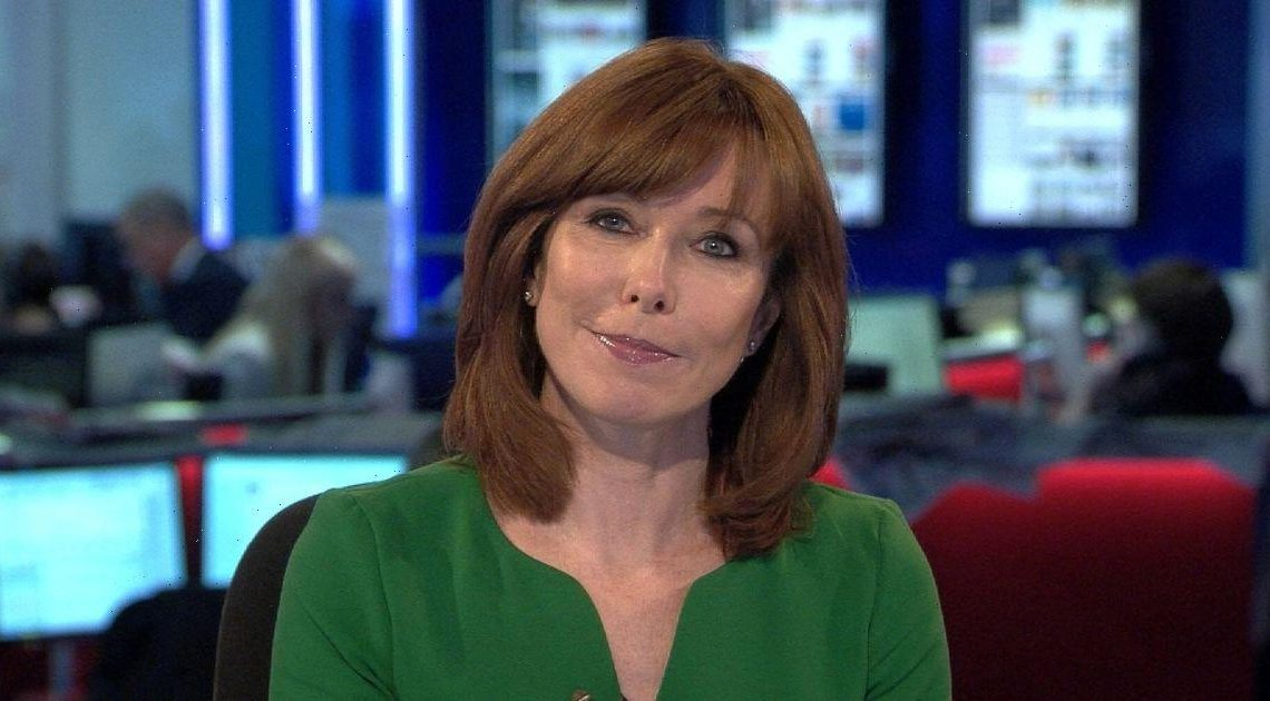 Kay Burley celebrates return to Sky News after time off for breaking Covid rules