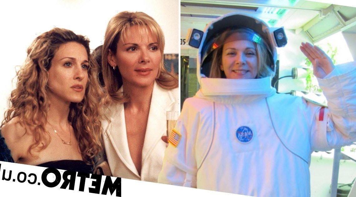 Kim Cattrall mocks Sex and the City reboot snub with nod to space fan theory