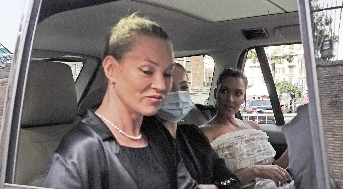 Kim Kardashian and Kate Moss stun fans with epic meeting as they tour Vatican