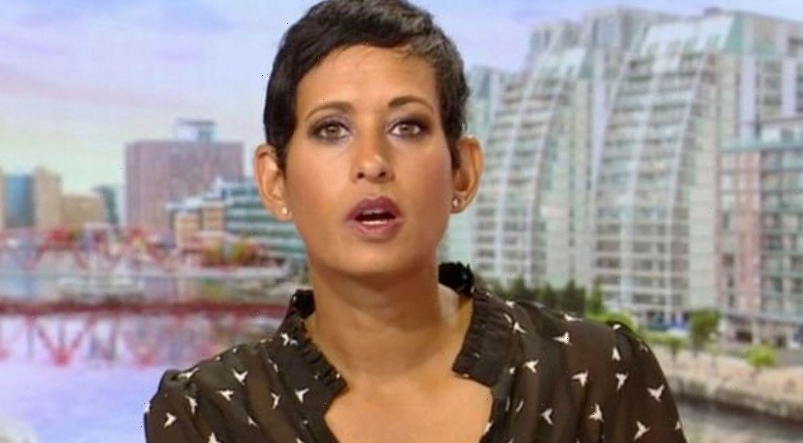 Naga Munchetty 'worried' after co-stars said they'd miss her in goodbye message