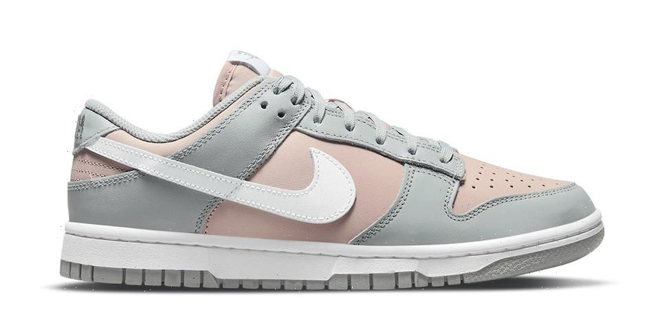 Newest Nike Dunk Lows Appear in Pink and Gray Hues