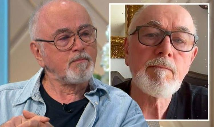 Peter Egan breaks down in tears as he addresses wifes death for first time in 3 months