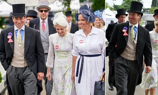 Peter Phillips attends Royal Ascot after finalising his divorce